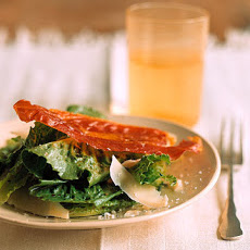 Romaine Salad with Prosciutto Crisps
