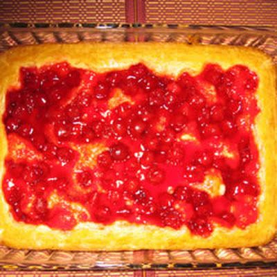 Ukrainian Chereshnyanyk Cherry bars