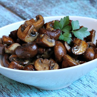 Balsamic Sauteed Mushrooms
