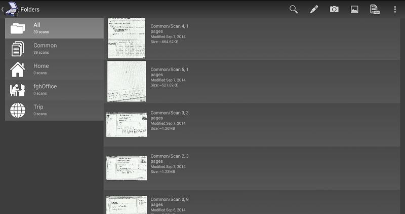 Mobile Doc Scanner (MDScan) + OCR Screenshot 4