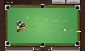 Screenshot of Pool billiard !
