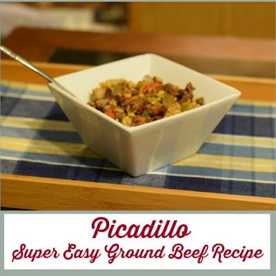 Picadillo - Super Easy Ground Beef