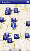 Screenshot of Standard Bank Mobile Banking