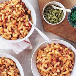 Ground Meat Goulash with Macaroni