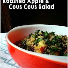Roasted Apple Couscous Salad