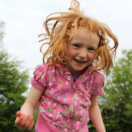 Bad hair day by Maria Redmond - People Family