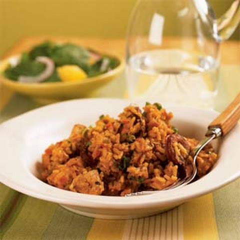 Andouille, Chicken, And Shrimp Jambalaya-Stuffed Peppers Recipes ...