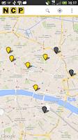 Screenshot of NCP Car Park Finder