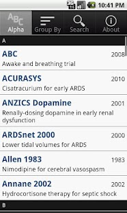 ICU Trials Lite by ClinCalc - screenshot