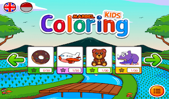 Screenshot of Marbel Coloring Books Free