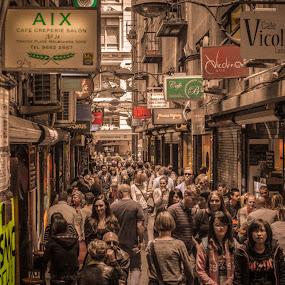 VicoLino by Jarrod Belshaw - City,  Street & Park  Street Scenes ( street art melbourne laneway coffee nikon d7000,  )