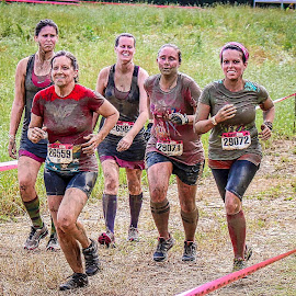 Dirty Girl Race by Lou Plummer - Sports & Fitness Running ( mud, run, females, race, running )
