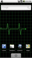 Screenshot of Heart Monitor Live Wallpaper