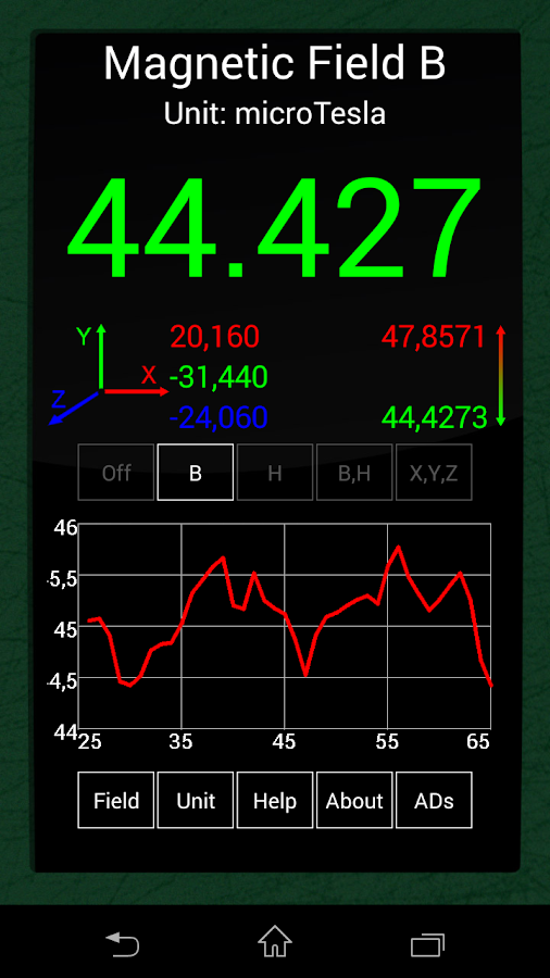 Ultimate EMF Detector Pro Screenshot 5