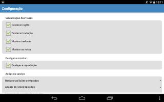 Screenshot of Inglês básico 1