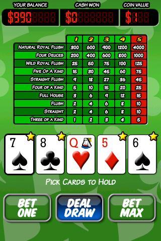Ace Roller Video Poker