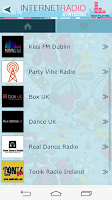 Screenshot of Internet Radio Stations