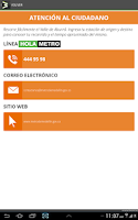 Screenshot of Metro de Medellín