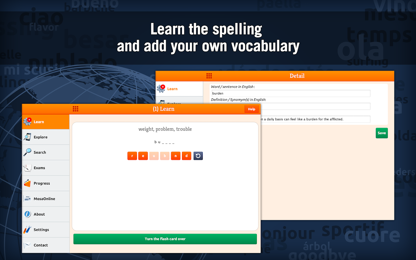 Learn TOEFL Vocabulary Screenshot 9
