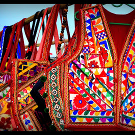 Embroidery Work by Prasanta Das - Artistic Objects Clothing & Accessories ( embroidery work, jackets )