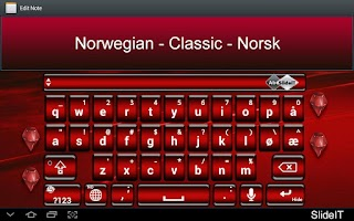 Screenshot of SlideIT Norwegian Classic Pack