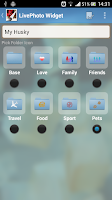 Screenshot of LivePhoto Widget