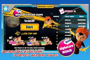Screenshot of BoBoiBoy: Adudu Attacks! Free