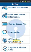 Screenshot of State Bank Secure