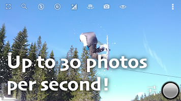 Screenshot of Fast Burst Camera