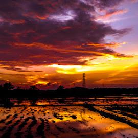 by Sameera Rathnayaka - Landscapes Cloud Formations