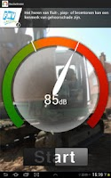 Screenshot of FNV Decibelmeter