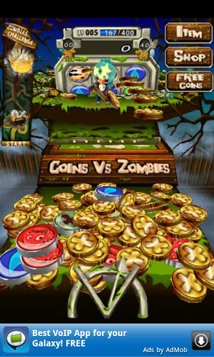 Coins Vs Zombies