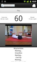 Screenshot of Relaxed Abs - Ab Workout Timer