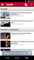 Screenshot of Journal de Montreal