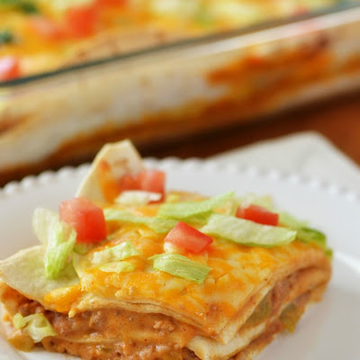Mexican Tortilla Stack