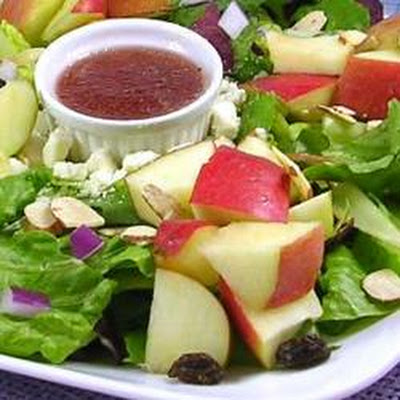 Apple Almond Crunch Salad