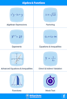 Screenshot of SAT Math Algebra & Functions L