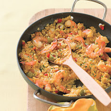 One-Hour Shrimp Paella