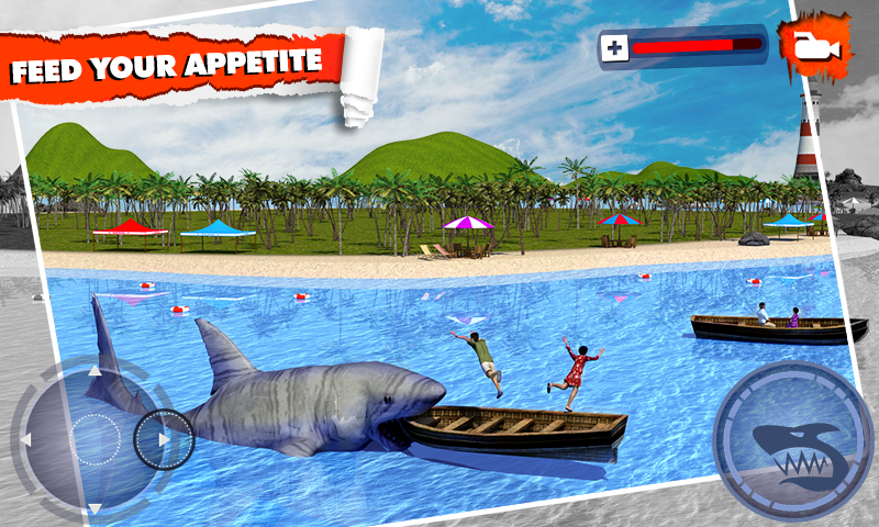 Angry Shark Simulator 3D Screenshot 0