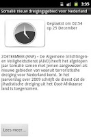 Screenshot of De Krant