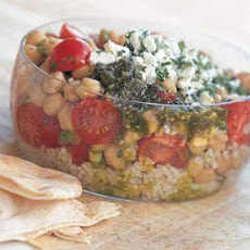 Tabbouleh with Beans and Feta