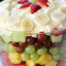 Easy Fruit Trifle