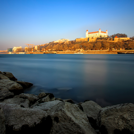 Bratislava Hrad by Andreas  Agung - City,  Street & Park  Historic Districts