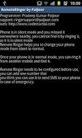 Screenshot of Remote Ringer (FREE) - Paijwar