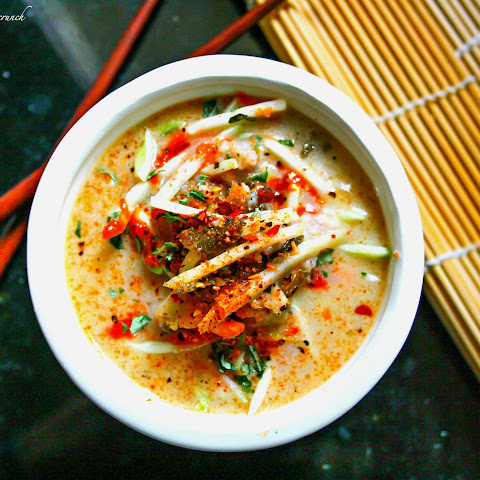 Thai Coconut Cabbage Soup (Paleo)