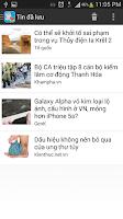 Screenshot of Đọc báo - Tin tức nóng 24h