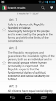 Screenshot of Italian Constitution 4.0