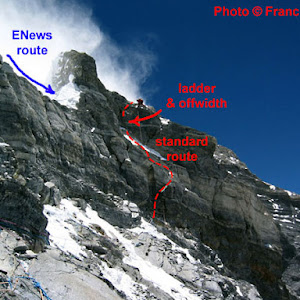 K2 Mountain Vs Everest Criticism of the Everestnews.com Proposed Mallory Route up the Second ...