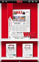 Screenshot of WAZ