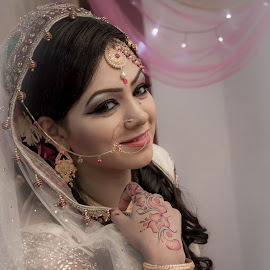 by Md Zobaer Ahmed - Wedding Other ( wedding, woman, smile, portrait,  )